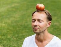 Headshot του ατόμου με τις προσοχές ιδιαίτερες Στοκ Φωτογραφίες