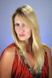 headshot 2 блондинк сексуальное Стоковые Фотографии RF