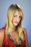 headshot 4 блондинк сексуальное Стоковые Фотографии RF