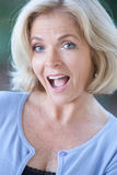 Headshot of an actress in her fifties Stock Images