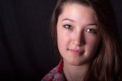 Headshot adolescente Fotografia de Stock Royalty Free