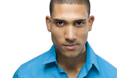 Headshot of a African American male Royalty Free Stock Photos