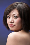 Headshot asiático da menina Foto de Stock