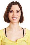 Headshot of attractive young woman Stock Images