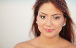 Headshot of an attractive young woman Royalty Free Stock Image