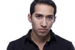 Headshot av en latinamerikansk manlig Royaltyfria Foton