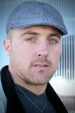 Headshot av en man Arkivfoto