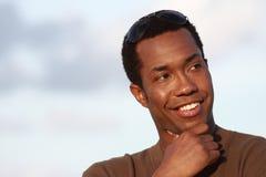 Headshot beau d'homme Images stock