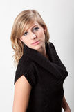Headshot of beautiful blonde woman Royalty Free Stock Images