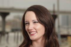 Headshot of a beautiful woman Stock Photo