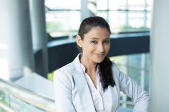 Headshot biznesu kobieta obraz royalty free
