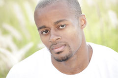 Headshot of a black man Royalty Free Stock Photos
