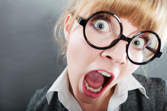 Headshot bonito novo da mulher da mulher de negócios Imagens de Stock