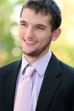 Headshot of a Business, Corproate Man Stock Photo