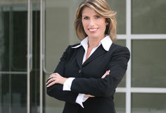 Headshot of a Business, Corproate Woman Stock Photography