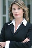 Headshot of a Business, Corproate Woman stock image
