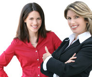 Headshot of a Business, Corproate Woman Royalty Free Stock Image