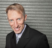 Headshot of a businessman Royalty Free Stock Photography