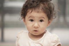 Headshot of a cute baby Royalty Free Stock Photo