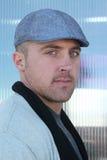 Headshot d'un homme Photographie stock libre de droits