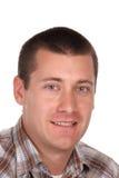 Headshot d'un homme jeune Images stock