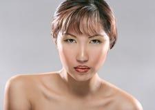 Headshot da beleza fotos de stock