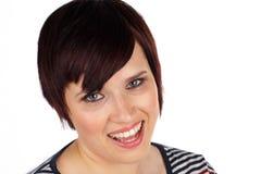 Headshot da mulher nova Foto de Stock