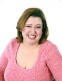 Headshot de la mujer sonriente Fotografía de archivo