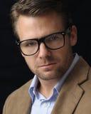 Headshot de professeur Photographie stock libre de droits