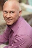 Headshot de um homem considerável fotografia de stock royalty free