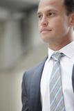 Headshot de um homem de negócios imagens de stock royalty free