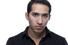 Headshot de um macho latino-americano Fotos de Stock Royalty Free