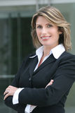 Headshot de um negócio, mulher de Corproate Fotos de Stock Royalty Free