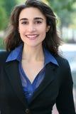 Headshot de um negócio, mulher de Corproate imagens de stock royalty free