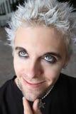 Headshot de un adolescente joven gótico Imágenes de archivo libres de regalías