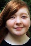 Headshot del adolescente Foto de archivo libre de regalías