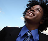 Headshot del hombre de negocios Foto de archivo libre de regalías