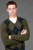 Headshot del hombre joven hermoso Fotos de archivo