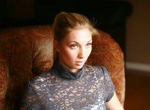 Headshot del modelo bastante adolescente Fotos de archivo