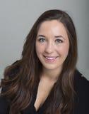 Headshot del negocio para una hembra joven Fotografía de archivo libre de regalías
