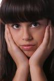 Headshot del preadolescente joven Foto de archivo libre de regalías