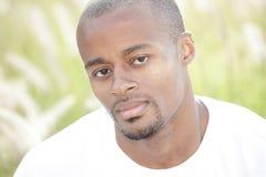 Headshot di un uomo di colore fotografie stock libere da diritti