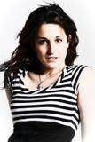 Headshot einer Frau lizenzfreie stockbilder