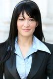 Headshot eines Geschäfts, Corproate Frau Lizenzfreie Stockfotos