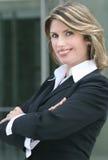 Headshot eines Geschäfts, Corproate Frau Lizenzfreie Stockbilder