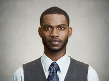 Headshot eines jungen Geschäftsmannes Stockbilder