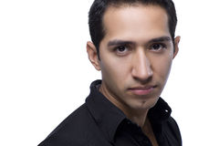 Headshot of a handsome hispanic man Royalty Free Stock Photography