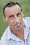 Headshot of a handsome man Stock Photography