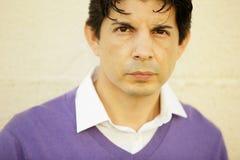 Headshot of a Hispanic man Stock Image