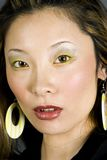 Headshot of a Japanese woman Stock Images